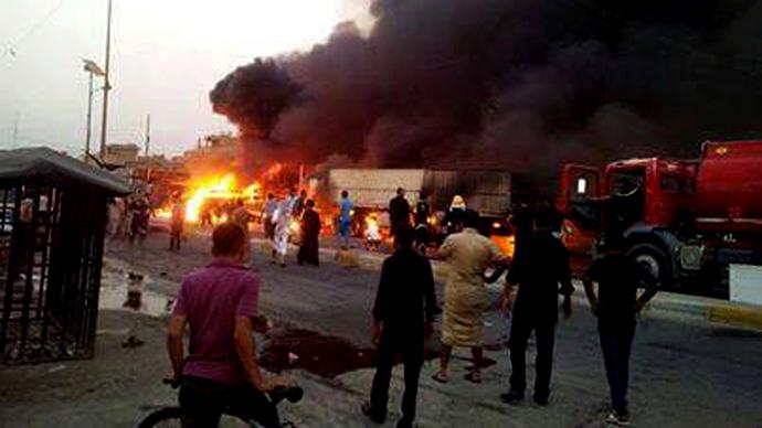 Image result for Suicide attack leaves 16 dead, 65 injured in Baghdad
